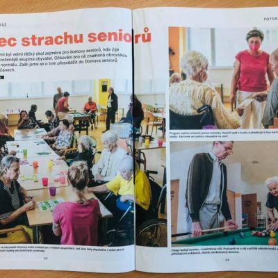 Článek v týdeníku Mladý svět