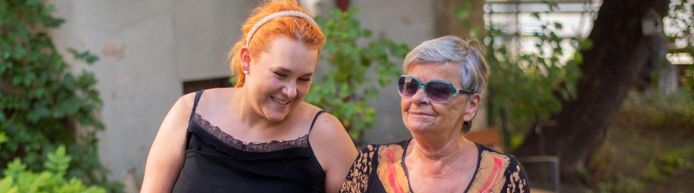 Návštěvy v domově seniorů