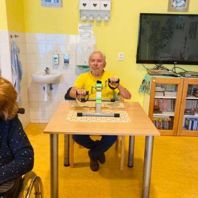 Nové rehabilitační přístroje pro naše klienty