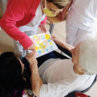 Oslava 101 let naší klientky