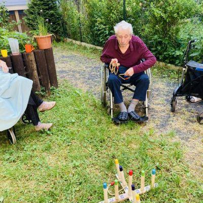 Sportovní dopoledne na zahradě